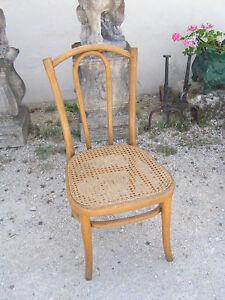 veritable chaise basse nourrice ou enfant bois courbe thonet 1930 style bistro ebay. Black Bedroom Furniture Sets. Home Design Ideas