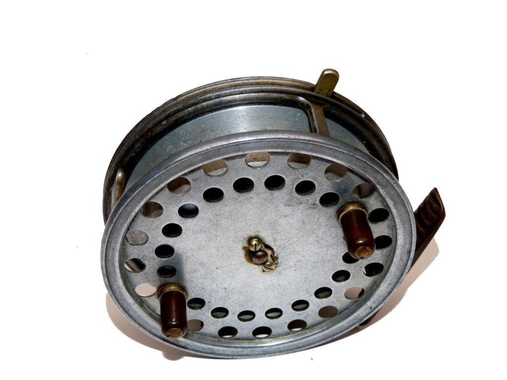 Hardy EUREKA 4 pollici Centro Pin Mulinello spasso utilizzare né raccogliere