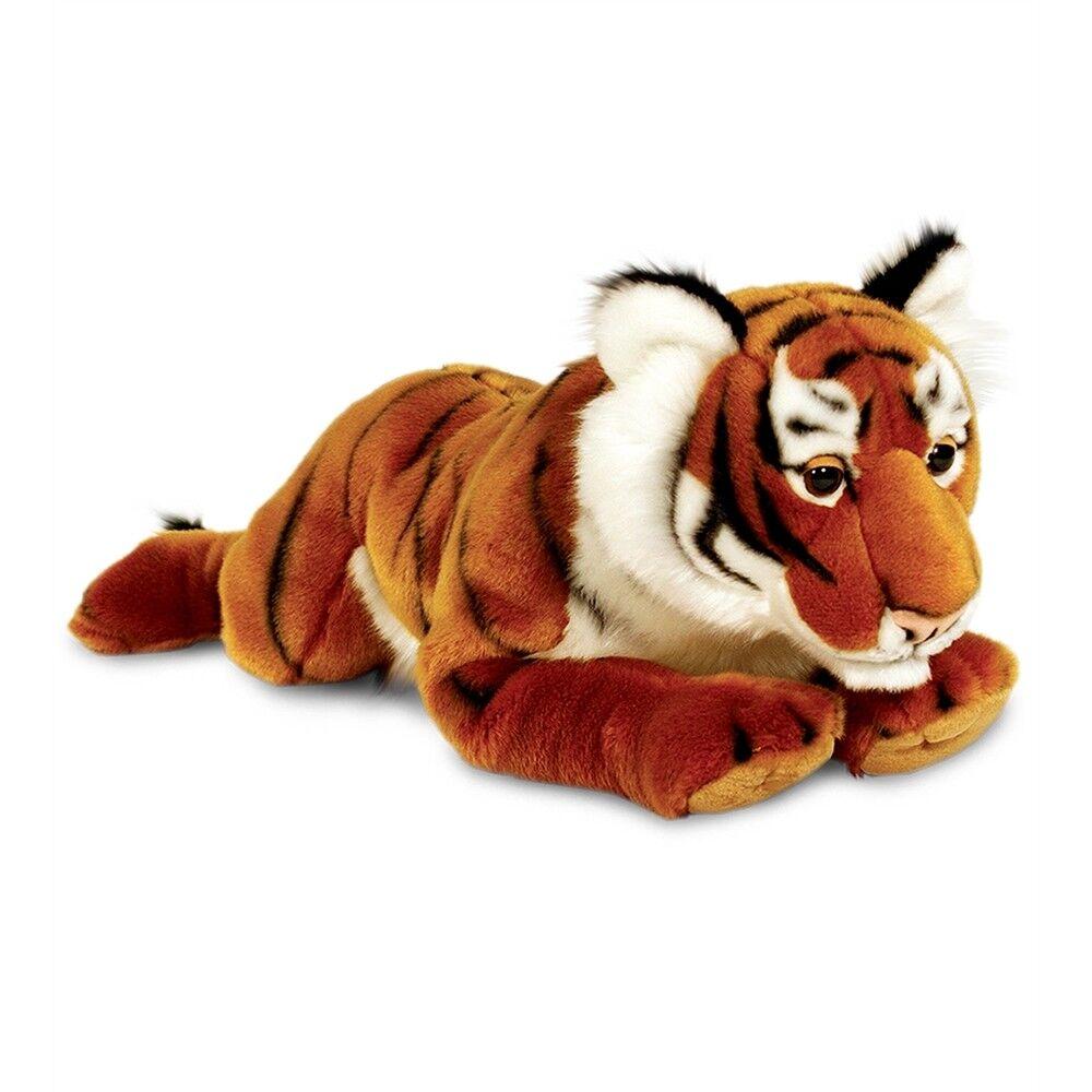 58cm Tiger Soft Plush Toy - Keel Toys 58cm