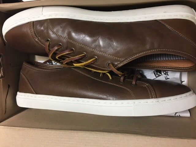 Farley Harrison Harrison Harrison Sneaker Neu Gr:46 Leder Retro Leder schuhe braun Braun 3512b0