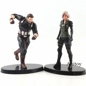 Marvel-Avengers-Infinity-War-Black-Widow-Figure-Captain-America-Figurine-PVC