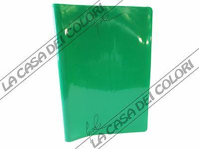 Coprimaxi Laccato - Copertina Per Quaderni A4 - Alettata - Verde - 1 Pezzo Imballaggio Di Marca Nominata