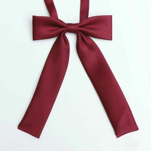 Mädchen Japanisch JK Uniform Lolita Fliege Cosplay Krawatte Schleife Verstellbar