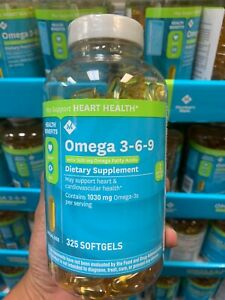 Omega 3 6 9 Dietary Supplement 325 Ct Ebay
