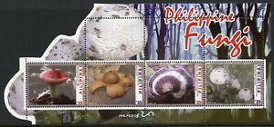 Filippine-funghi-stamps-2019-Gomma-integra-non-linguellato-FUNGHI-FUNGO-NATURA-4v-M-S
