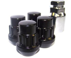 GEN2-nero-bloccaggio-dadi-della-ruota-1-2-034-Bulloni-conici-per-Dodge-Nitro-07-12