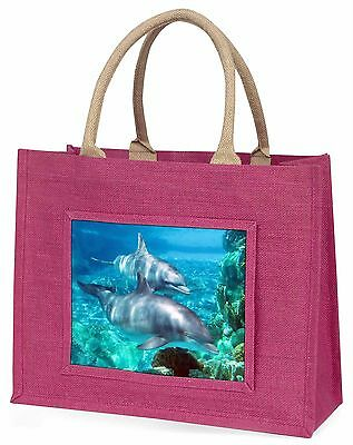 Delphine Große Rosa Einkaufstasche Weihnachten Geschenkidee, AF-D3BLP
