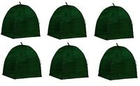 (6) Nuvue 20250 22 X 22 X 22 Green Frost Proof Winter Shrub Protector Covers