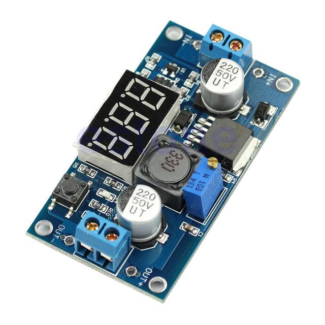 Adjustable Step Down Power Converter LED Voltmeter DC 4V-40V To 1V-37V LM2596
