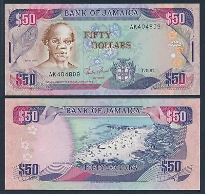 Jamaica P-84f 15.01.2011 100 Dollars-Crisp Uncirculated