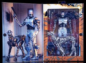 Neca Robocop Vs Terminator - Endocop & Chien Figurine D'action Neuf/emballé