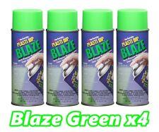 Performix Plasti Dip Blaze Green 4 Pack Rubber Coating Spray 11oz Aerosol Cans