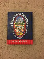 New Collection Book Album Walt Disney World Elongated Pressed Penny