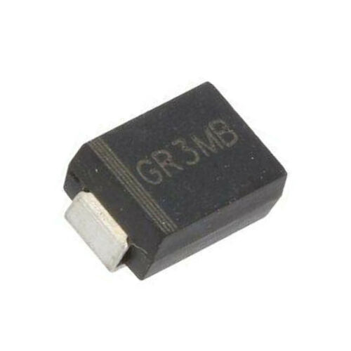 Rolle,Band YANGJIE 20X GR3MB Diode Gleichrichter SMD 1000V 3A 500ns Verpackung