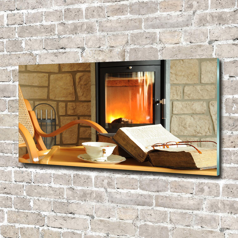 Acrylglas-Bild Wandbilder Druck 140x70 Deko Sonstige Kamin