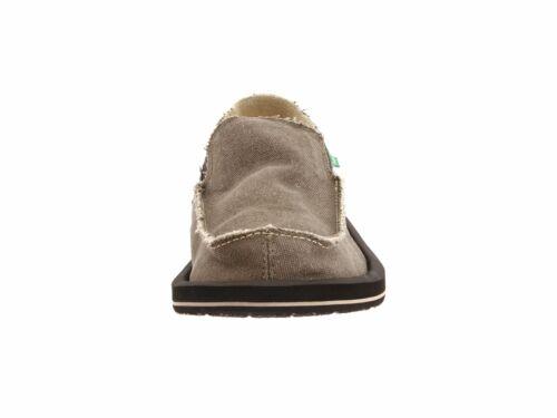 Men/'s Shoes Sanuk Vagabond Slip On Sidewalk Surfers SMF1001 Brown *New*