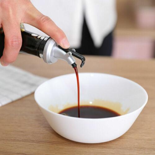 1PC Kitchen Bar Liquor Oil Wine Bottle Pourer Spout Stopper Cork Dispenser-WI