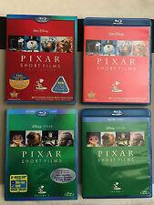 Pixar Short Films Collection Vol. 1 + 2 (Blu-ray) + OOP SLIPCOVERS- 3 MINT DISCS