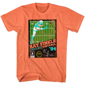 Ace Ventura T-Shirt Pet Detective Ray Finkle Football Orange Tee