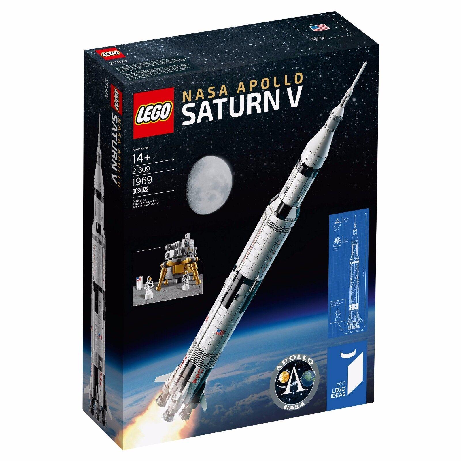 Lego Ideas Apollo de la NASA Saturno V (21309) - Nuevo y en mano para enviar