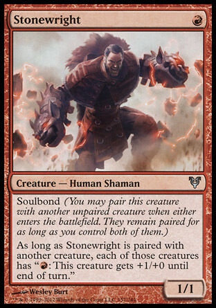 4x Stonewright Avacyn Restored MtG Magic Red Uncommon 4 x4 Card Cards