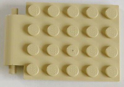 Lego 1 x Falltür Rahmen 30041 30042 alt hellgrau schwarz   6x8