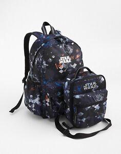 54b1d17546 GAP KIDS BOYS GIRLS SENIOR BACKPACK LUNCH BAG SCHOOL Space Star Wars ...