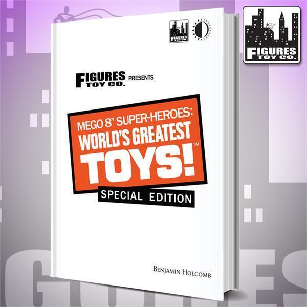 Mego 8 Pulgadas Super-heroes  World's Greatest Toys Libro De Tapa Dura Edición Especial