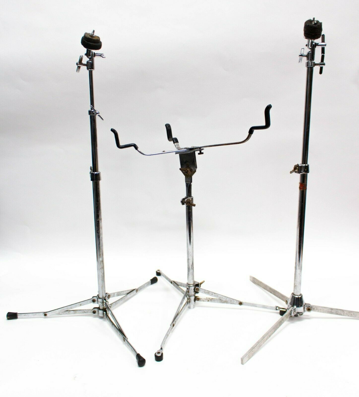 Drum Stand Hardware Snare Stand and Cymbal Stand - Lot of 3