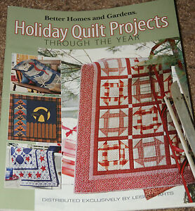 Better Homes Quilting Sampler Magazine Fall Winter 2014 Vintage Projects