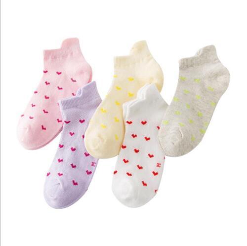 2018 Children mesh socks anchor star cotton spring summer boys girls kids socks