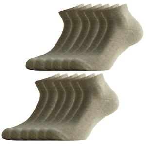 12 paia di calzini in cotone elasticizzato e soletta in spugna di Fontana Calze