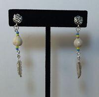 Cherokee Trail Of Tears Corn Tears Beaded Pierced Earrings Gift