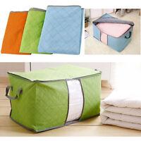 Large Clothes Bedding Pillows Quilt Duvet Zipped Handles Laundry Storage Bag