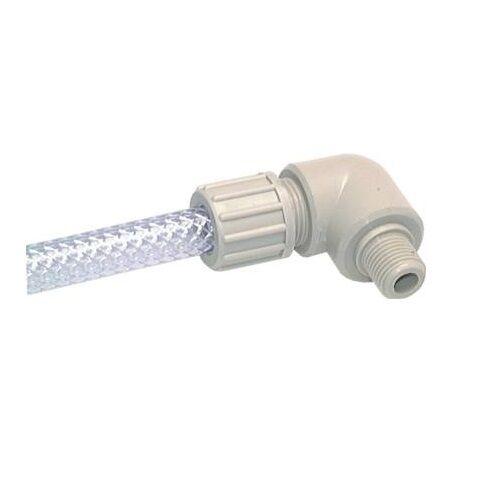 Winkel-Einschraubverschraubung für Gewebeschlauch TX bis 10 bar Verbinder PP