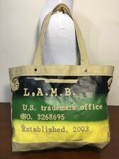 L.A.M.B. Lamb Gwen Stefani Tote Bag Coated Canvas Large
