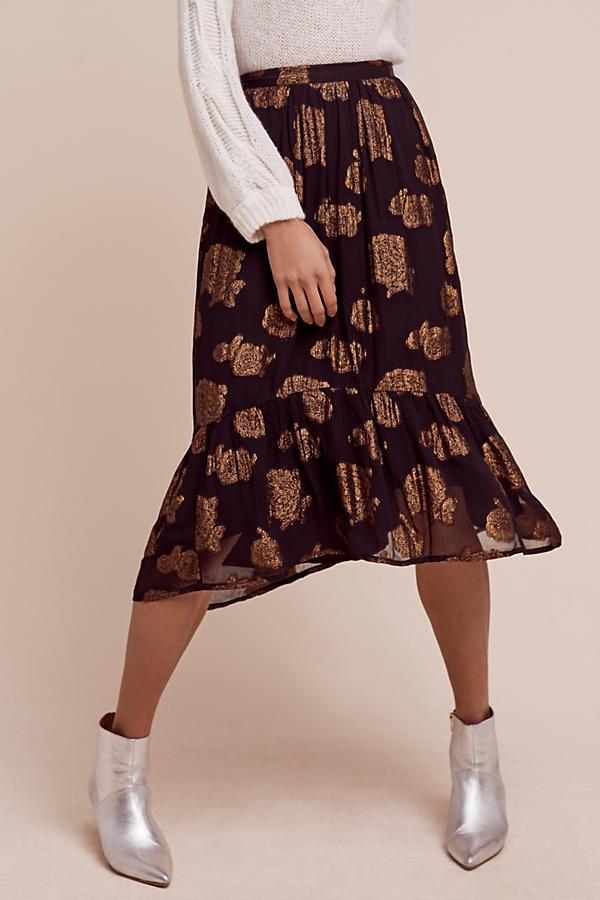 NIP Anthropologie Oralie Skirt  by Floreat Sz 6  128