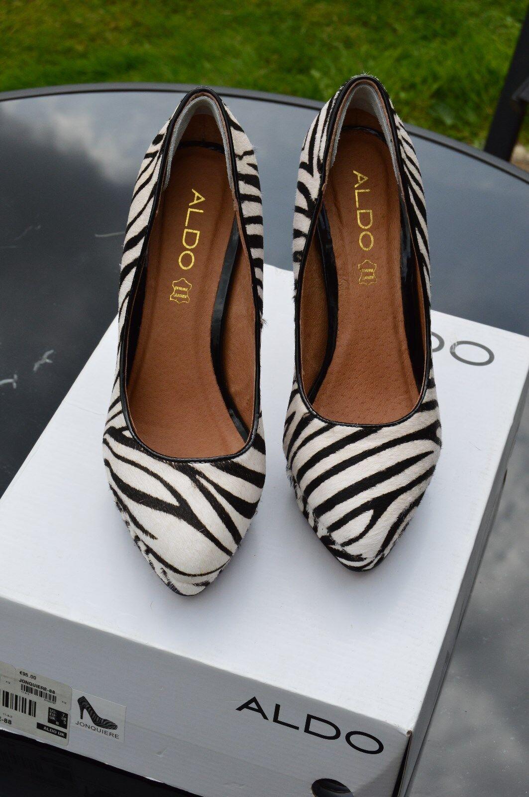 Ladies Aldo Zebra Print shoes - Size 5
