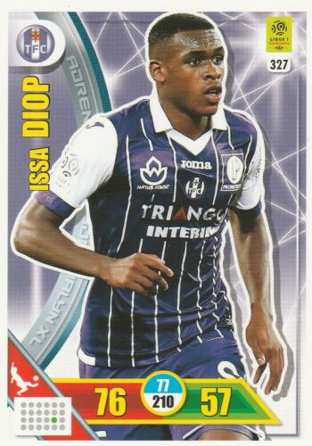 TROYES CARTE PANINI ADRENALYN XL FOOT 2017 2018 TOULOUSE