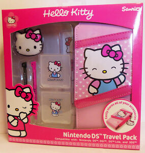 Hello Kitty Ds Travel Case