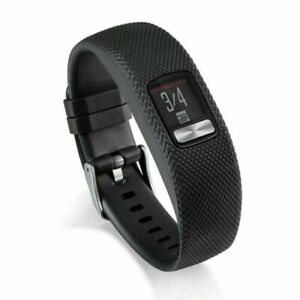 For Garmin VivoFit 4 Activity Tracker Silicone Watch Wristband Band Strap AUP
