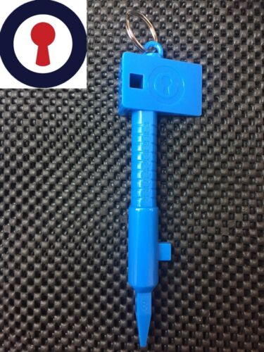 6 x Locksmith tools for working on upvc door locks 1st P/&P included