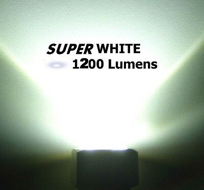 TWENTY [20] SUPER WHITE LED BOAT DRAIN PLUG LIGHT 1200 LUMENS  GARBOARD