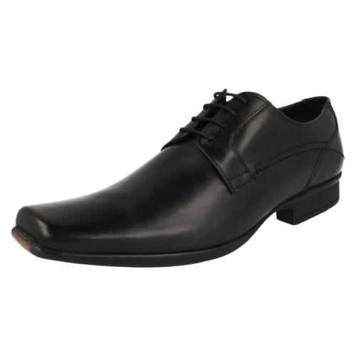 Details about  /Mens Black Leather Lace Up Clarks Shoes UK Sizes 7-11 Ascar Walk