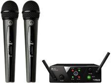 Doppio Radiomicrofono gelato AKG WMS40 Pro Mini 2 Dual Vocal Set