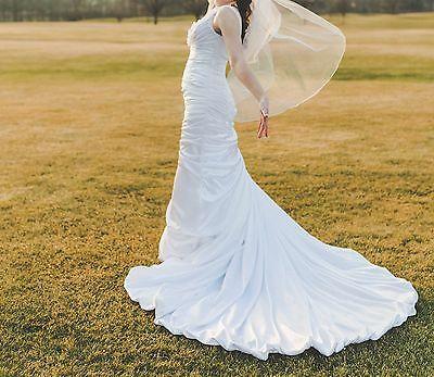 Maggie Sottero Adorae Rose Wedding Dress White Ebay