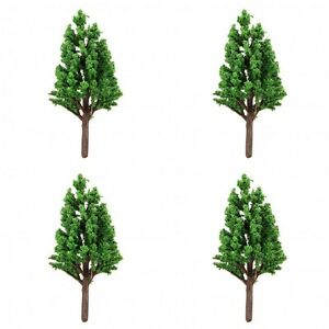 Details about 4 x Tabletop Wargames Scenery Terrain TREE 5-6cm tall