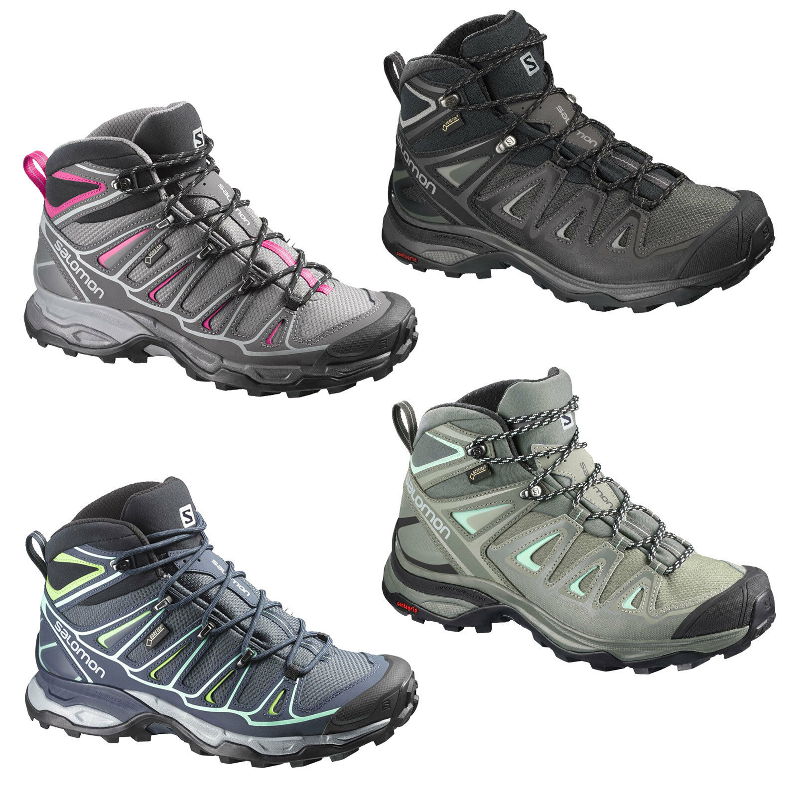 Salomon x Ultra mid GTX Gore-Tex Women's Hiking Boots Trail shoes Trekking shoes