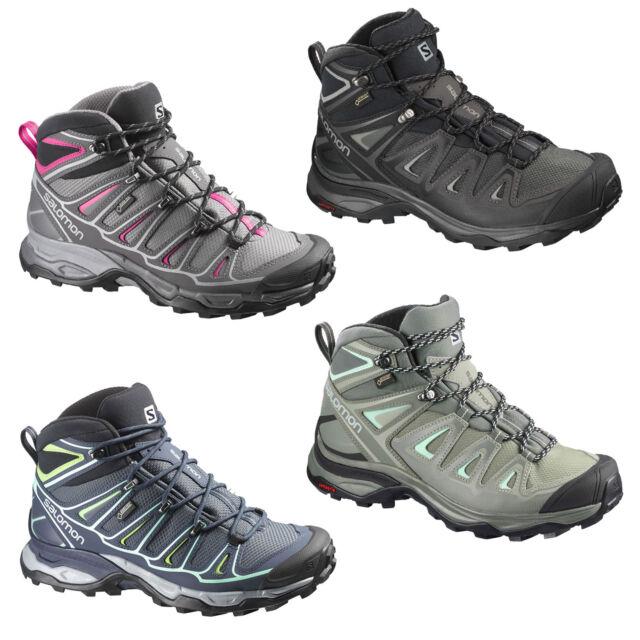 ed3c1676c250 Salomon x Ultra mid GTX Gore-Tex Women s Hiking Boots Trail Shoe Trekking  Shoes