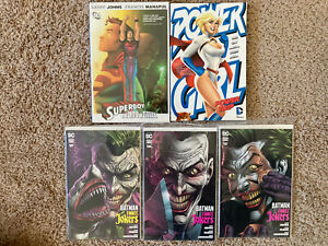 Graphic Novel Lot Power Girl Power Trip TBP SUPERBOY HC Batman Vol Joker 1 2 3